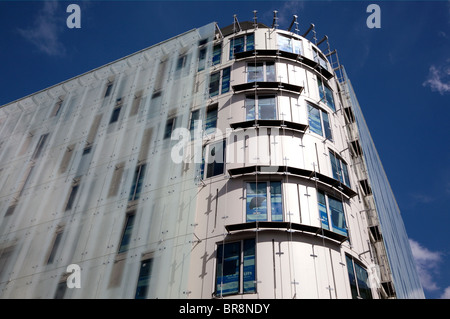 New building on site of former Swiss Centre, Leicester Square, London - Stock Photo