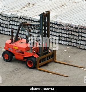 Commercial heavy duty forklift truck