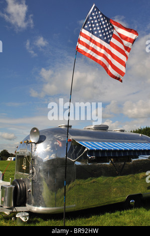 Airstream Classic American Caravan Stock Photo 29094360