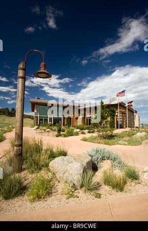 Visitor's Center - Cheyenne Mountain State Park, Colorado Springs, Colorado USA - Stock Photo