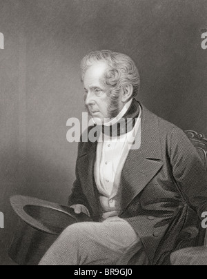 Henry John Temple, 3rd Viscount Palmerston, 1784 -1865. British prime minister. - Stock Photo