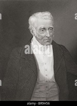 Field Marshal Arthur Wellesley, 1st Duke of Wellington, 1769 to 1852. Anglo-Irish soldier and statesman. - Stock Photo