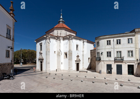 Nossa Senhora da Piedade Church. 17th century Mannerist church, in Santarém, Portugal - Stock Photo