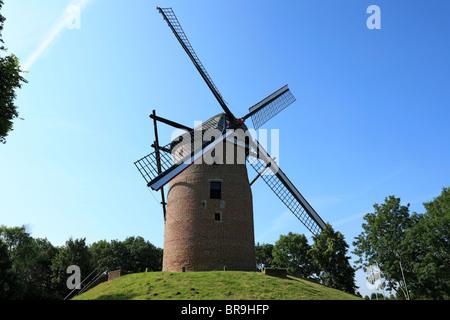 Geismuehle in Krefeld-Oppum, Rhein, Niederrhein, Nordrhein-Westfalen - Stock Photo