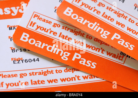 Airline Boarding Pass Stock Photo Royalty Free Image