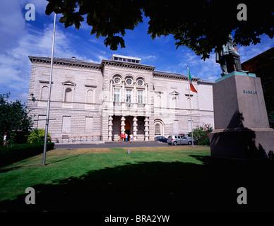 The National Gallery Of Ireland, Dublin, Ireland - Stock Photo