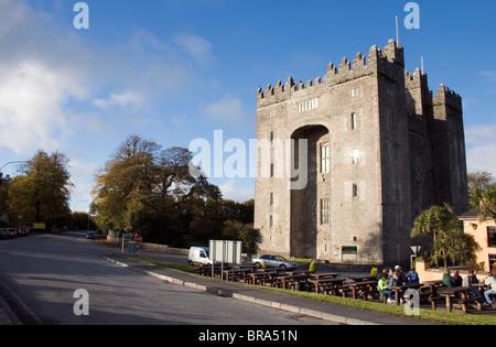 Bunratty Castle, Co Clare, Ireland; 15Th Century Castle - Stock Photo