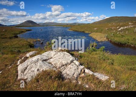 Maam Cross, Connemara, County Galway, Ireland - Stock Photo