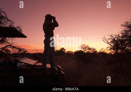 Abu Camp, Okavango Delta, Botswana, Africa - Stock Photo