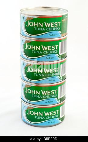 Tins of Tuna - Stock Photo