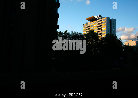 Golden Lane Estate, St Luke's, London, UK - Stock Photo
