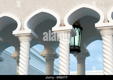 Sultan Omar Ali Saifuddin Mosque in Bandar Seri Begawan, Brunei - Stock Photo