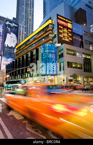 Times Square, Manhattan, New York City, New York, USA - Stock Photo