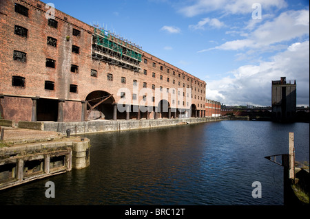 The Stanley Dock Warehouse, Liverpool - Stock Photo