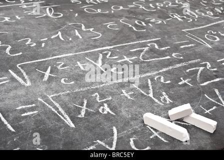 Mathematical equation - Stock Photo