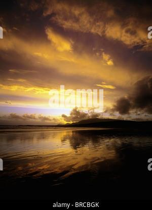 Keel, Achill Island, Co Mayo, Ireland - Stock Photo