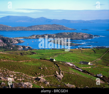 Derrynane Harbour, Caherdaniel, Ring Of Kerry, Co Kerry, Ireland - Stock Photo