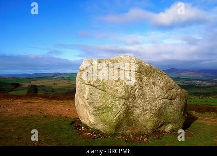 Motty Stone, Avoca, Co Wicklow, Ireland - Stock Photo