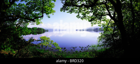 Lough Gill, Co Sligo, Ireland; Irish Landscape - Stock Photo
