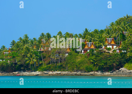 The Amanpuri Resort, Phuket Island, Thailand - Stock Photo