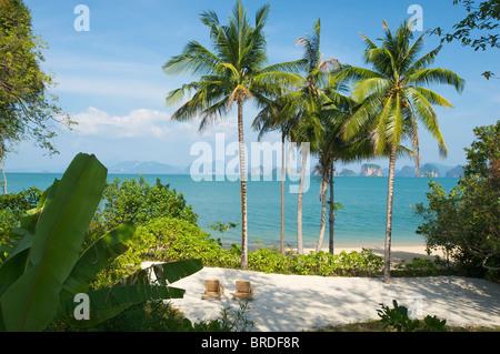 Evason Six Senes Hideaway, Luxury Hotel on Yao Noi Island, Phuket, Thailand - Stock Photo