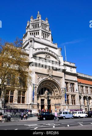 The Victoria and Albert Museum, South Kensington, London, Britain, UK - Stock Photo