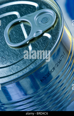 Aperture ring on tin - Stock Photo