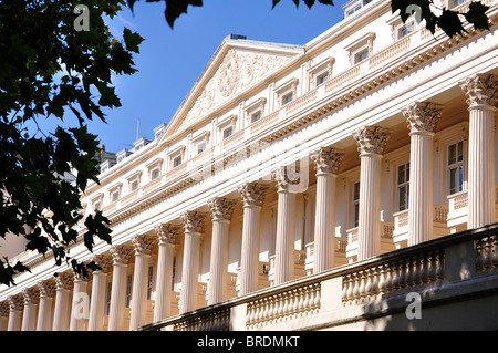Carlton House West Terrace, The Mall, City of Westminster, Greater London, England, United Kingdom - Stock Photo