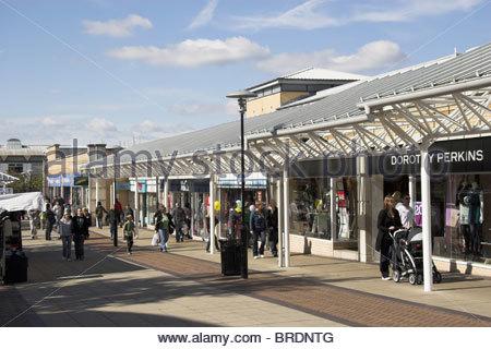 Yate shopping centre, near Bristol, UK. - Stock Photo