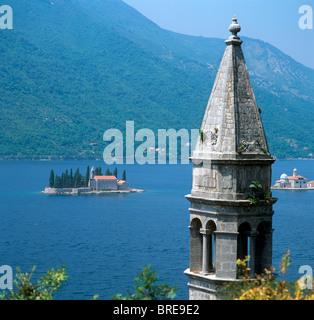 Perast, Bay of Kotor, Montenegro - Stock Photo
