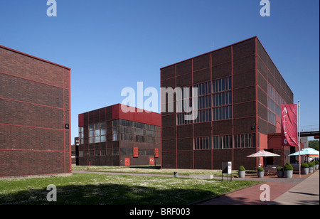 Zollverein Coal Mine, Essen, North Rhine-Westphalia, Germany, Europe - Stock Photo