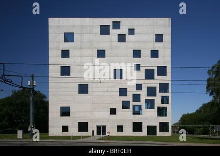 Zollverein School of Management and Design, Essen, North Rhine-Westphalia, Germany, Europe - Stock Photo