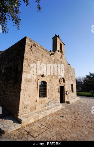 Greek Orthodox church, Kition, Larnaca, Cyprus, Europe - Stock Photo
