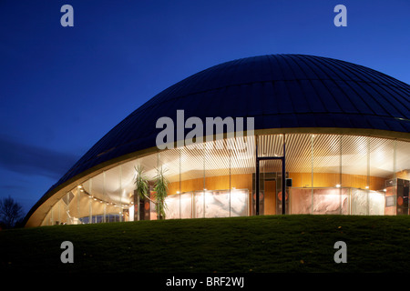 Zeiss-Planetarium, Bochum, Ruhr Area, North Rhine-Westphalia, Germany, Europe - Stock Photo