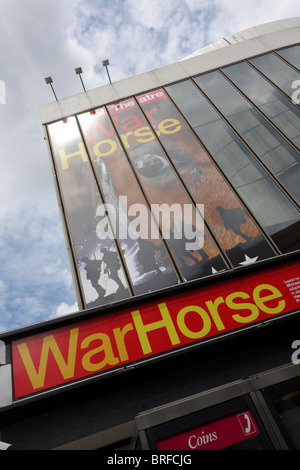 External facade of The New London Theatre in Covent Garden, London. - Stock Photo