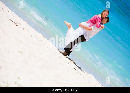 Honeymooners Stock Photo