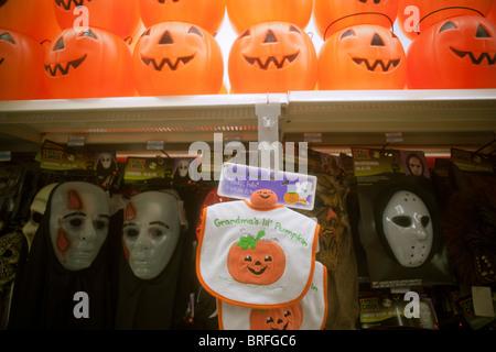 halloween merchandise at a kmart store in new york stock photo - Kmart Halloween