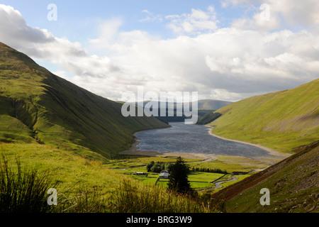 Talla Reservoir, Dunfries and Galloway, Scottish Borders-1 - Stock Photo