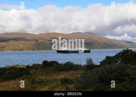 Caledonian MacBrayne Oban to Mull Ferry-1 - Stock Photo