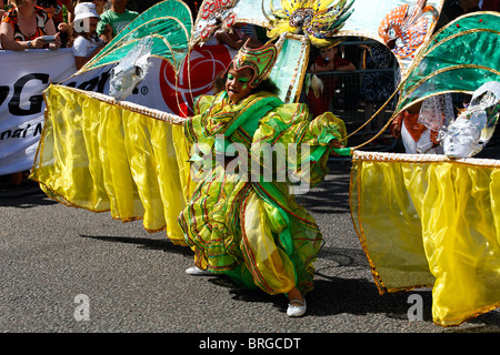 Childrens Day at the Notting Hill Carnival 2007, London, UK - Stock Photo