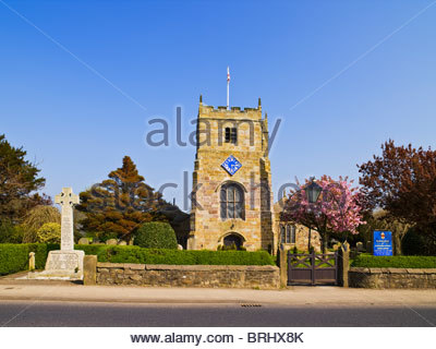 Parish Church of St Michael, St Michael's-on-Wyre, near Garstang, near Preston, Lancashire, England, UK - Stock Photo