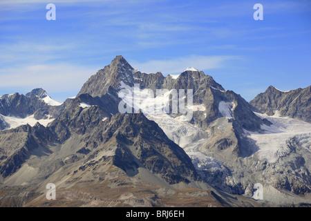 Ober Gabelhorn mountain, Switzerland - Stock Photo