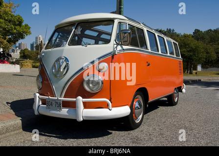 Volkswagen Kombi van - Stock Photo