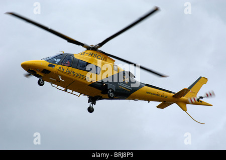 Air Ambulance Helicopter - Stock Photo