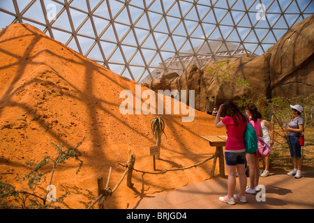 Henry Doorly Zoo - Desert Dome - Stock Photo