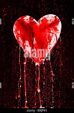 Bleeding Heart Symbol Of Love Stock Photo 30038150 Alamy