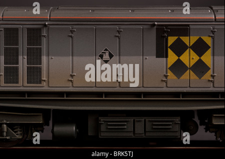 BR Co Co Class 58 Diesel Electric Locomotive detail - Stock Photo