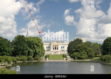 Cleveland Museum of Art - Case Western Reserve University - Cleveland Ohio - Stock Photo