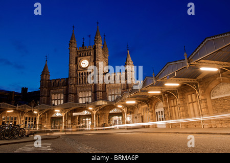 Temple Meads Railway Station, Bristol - Stock Photo