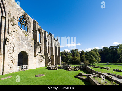 Bolton Priory, Bolton Abbey, Wharfedale, Yorkshire Dales, North Yorkshire, England, UK - Stock Photo